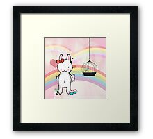 usagi chan ♥ Framed Print
