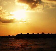 Sun down on the farm by Annabelle Evelyn