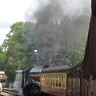 North Yorkshire Railway - Leaving Pickering by ellismorleyphto