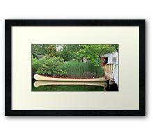 Sebago Canoe Club Framed Print