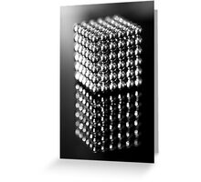 Neo Puzzle Cube Greeting Card