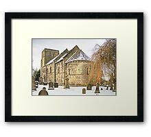 Dalmeny Parish Church Framed Print