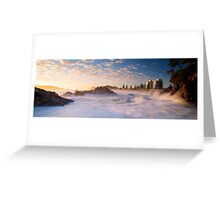 Mount Maunganui Panoramic Greeting Card