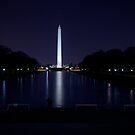 Nighttime View of the Washington Monument by Terence Russell