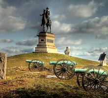 The Battlefield at Gettysburg by Terence Russell