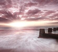 pink sunrise by creativemonsoon