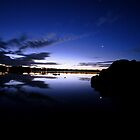 The Tasmanian semi-night where the moon hides by Andy Sinclair