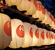Line of Lanterns by mjds