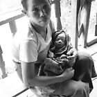 Indigena Woman with Baby by StillApes