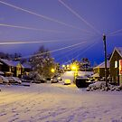 Snowy Cables by Rachel Lilly