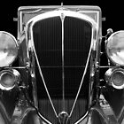 Black and White Studebaker by Darrell-photos
