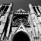 Black and White Church in San Fran 4 by Darrell-photos