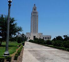 Louisiana  Capitol Building by kelseycowin