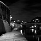 River Walk B&W by ThePingedHobbit