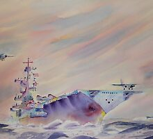 Air Operations - U.S. Navy by henrytheartist