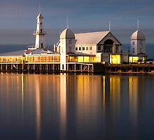 Evening Reflection - Geelong by Hans Kawitzki