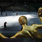 Skating at Rockefeller Center by Erik Holladay