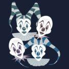 Color Clowns by Octavio Velazquez