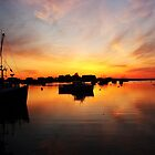 Sunrise Over Rye Harbor by GGleason
