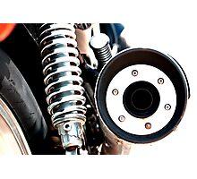 Exhaust Circle Photographic Print