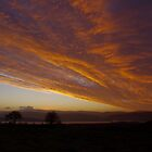 Sunrise over the Tywi Valley and Black Mountain by John Williams