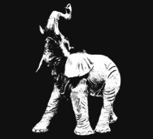elephant t-shirt by ralphyboy