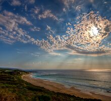 Sky rays by Richard Majlinder