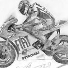 ROSSI DRAWING by 117annie