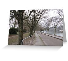 Walk by the Lee Greeting Card