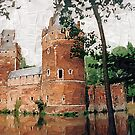 Beersel Castle - Belgium by Gilberte