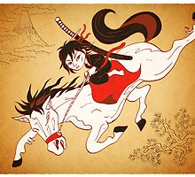 A Dream of a Samurai by Joozu
