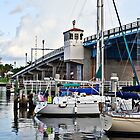Sail boats docked in fort lauderdale florida by robert cabrera