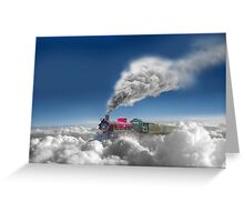 Sky Express Greeting Card