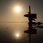 Dead Sea Sunrise by kerendanieli