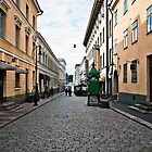 Helsinki City Street Scene by robert cabrera