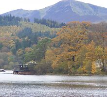 Autumn colours across Keswick by monkeyferret