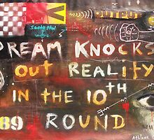 Dream Knocks Out Reality by Athlone Clarke