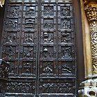 London. A Door in Victoria and Albert Museum. Great Britain 2009 by Igor Pozdnyakov