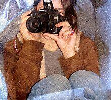 Portrait of a Photographer by Veronica Schultz