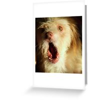 You want a piece of me! Greeting Card