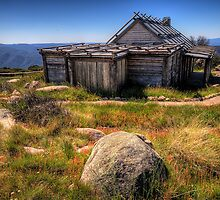Down by Kosciusko - Craigs Hut , Mt Sterling - The HDR Experience by Philip Johnson