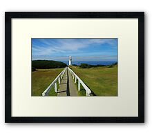 Path to the Lighthouse Framed Print