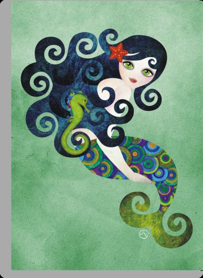 Aquamarine, the Teenage Mermaid by sandygrafik
