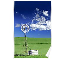 Farm Windmill  Poster