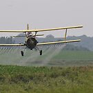 Spraying soybeans in Iowa. by SherryLynn58