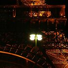 Eiffel Tower detail - Paris, FR by Olivia Son