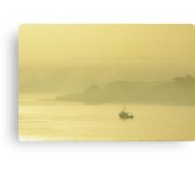 Morning mist, Cork Harbour Canvas Print