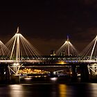 Golden Jubilee &amp; Hungerford bridges, London by George Parapadakis (monocotylidono)