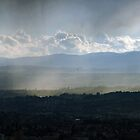 Night- and Rainfall over Lausanne by kilmann