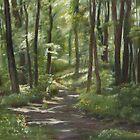Morning Path by Jeff Jackson